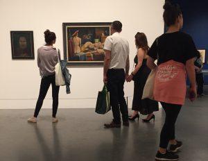 Besucher in der Tate, Foto: Kalr Heinz Martinß
